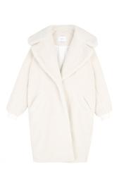 Пальто из меха альпака Carven