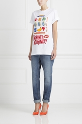 Хлопковая футболка D. Simachev