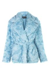 Однотонное пальто Rochas