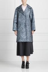 Пальто с принтом Erdem