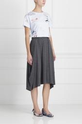 Шерстяная юбка Comme des Garcons