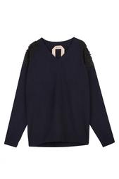Шерстяной пуловер No.21