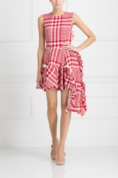 Платье из шерсти и хлопка Simone Rocha