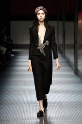Шерстяное платье Gucci