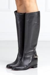 Кожаные сапоги Cate Boot Flat Christian Louboutin