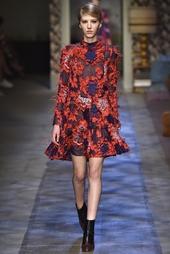 Платье с вышивкой Cosima Erdem