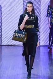Шерстяное платье DUNCAN Olympia Le Tan