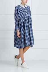 Платье из хлопка и шерсти Baudelaire Vivetta