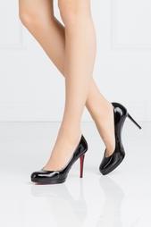 Черные Туфли из лакированной кожи New Simple Pump 100 Christian Louboutin