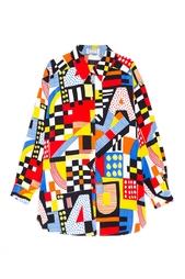 Рубашка с принтом (90-е) Versus Gianni Versace Vintage