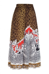 Шерстяная юбка Genny Vintage