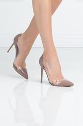 Туфли из лакированной кожи Gianvito Rossi