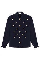 Однотонная блузка Louis Feraud Vintage