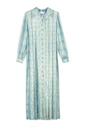 Платье из парчи (70-е) Oscar de la Renta Vintage