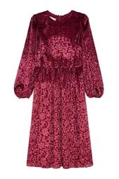 Платье с вышивкой Michael Kors