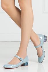 Туфли из лакированной кожи Dolly Birdy 30 Christian Louboutin
