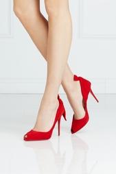 Замшевые туфли Barbara 100 Christian Louboutin
