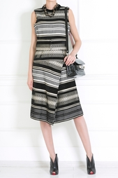 Платье с этническим принтом Proenza Schouler