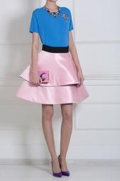Шелковая юбка Fausto Puglisi