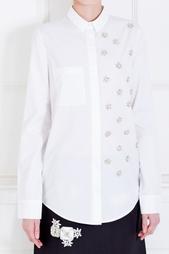 Хлопковая блузка Noon By Noor