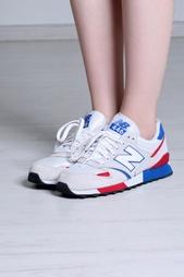 Замшевые кроссовки 446 New Balance