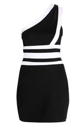 Асимметричное платье Balmain