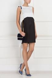 Двухцветное платье A Rnouveau