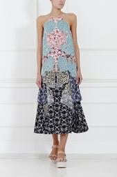 Шелковая юбка Stella Mc Cartney