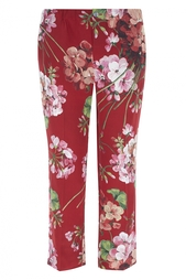 Брюки Blooms print pajama pant Gucci