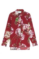 Блузка с принтом Gucci