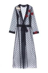 Шелковый халат Kuzyomin