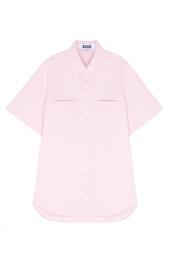 Однотонная рубашка Zddz