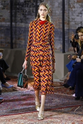 Блузка из шелка и шерсти Gucci