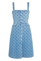 Платье из денима Stella Mc Cartney