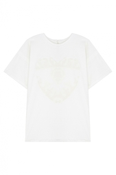 Хлопковая футболка Aika Alemi