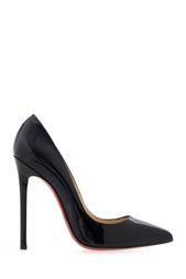 Туфли из лакированной кожи Pigalle 120 Christian Louboutin