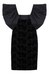 Бархатное платье (80-е) Estevez Vintage