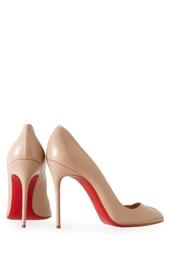 Туфли из лакированной кожи Corneille 100 Christian Louboutin