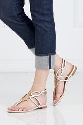Кожаные сандалии Sergio Rossi