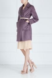 Пальто из мохера и шерсти Victoria Andreyanova