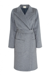 Пальто из шерсти и шелка Nataniel Dobryanskaya
