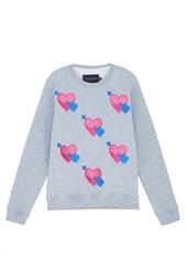 Хлопковый свитшот Valentine Candyshop