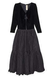 Платье бархатное (80е) Nina Ricci Vintage