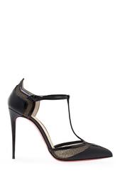 Туфли из лакированной кожи Mrs Early 100 Christian Louboutin