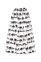 Хлопковая юбка Chapurin