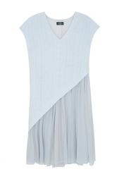 Платье с V-образным вырезом Alena Akhmadullina