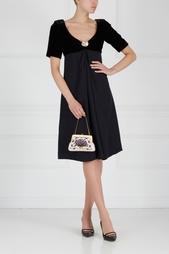 Однотонное платье (90-е) Yves Saint Laurent Vintage