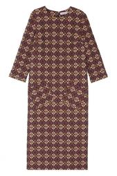 Платье с принтом Arapkhanovi