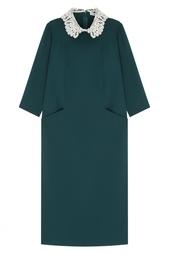 Платье с кружевом Arapkhanovi