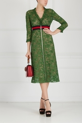 Кружевное платье Gucci